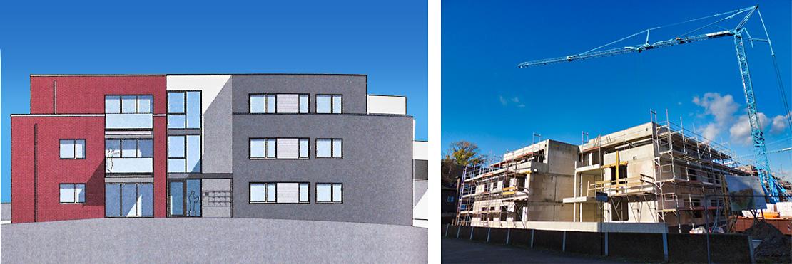 """Baumaßnahme – Hettkampsweg"""