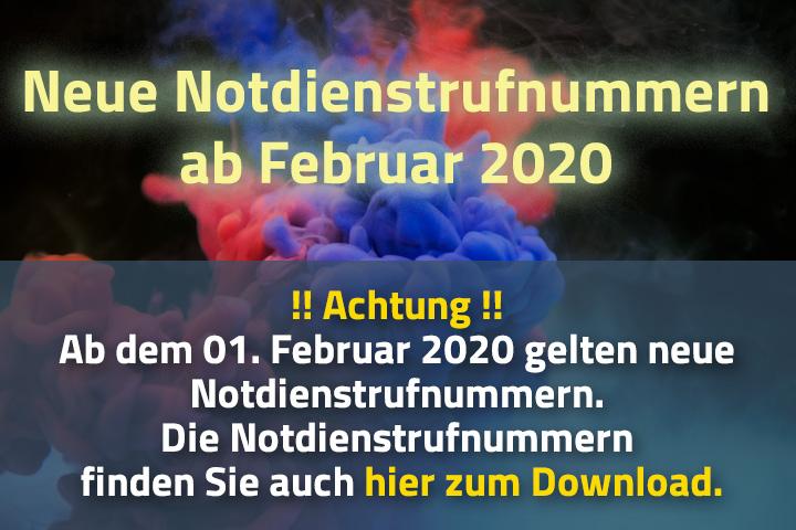 """""""Neue Liste der Notrufnummern als PDF-Datei öffnen"""""""