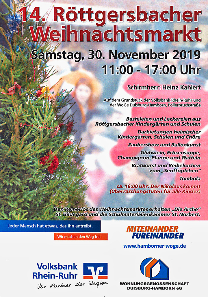 """""""14. Röttgersbacher Weihnachtsmarkt"""""""
