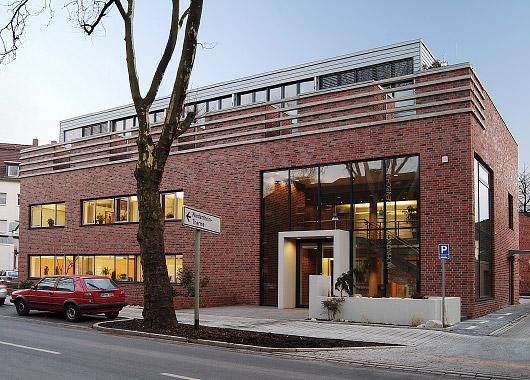 """""""Das Gebäude der WoGe Duisburg-Hamborn eG - Aussenansicht"""""""
