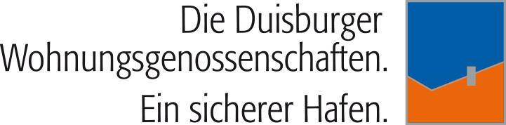 """""""Die Duisburger Wohnungsgenossenschaften. Ein sicherer Hafen."""""""